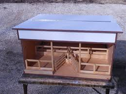 Livestock Loafing Shed Plans by For Sale Wooden Toy Barns And Buildings