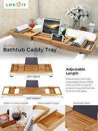 Bamboo Bathtub Caddy Canada by Fine Bathtub Table Tray Contemporary Bathtub Ideas Internsi Com