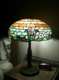 Duffner And Kimberly Lamps by 15 Wilkinson Documented Water Lily Leaded Lamp From