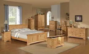 Image Of Oak Bedroom Furniture Set