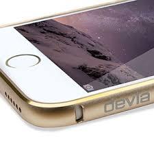 iPhone 6 Aluminium Bumper Champagne Gold