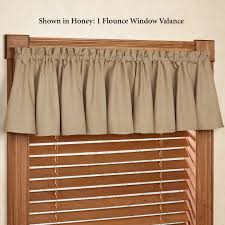 valance and swags kohl s drapery rods blue curtains for living