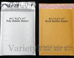 Decorative Bubble Mailers Bulk by Kraft Bubble Mailers Etsy