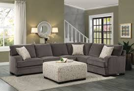 Poundex Bobkona Sectional Sofaottoman by Fabric Reversible 3 Piece Sectional Chaise Sofa Set Ottoman For