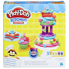 Amazon Play Doh Kitchen Creations Frost n Fun Cakes Toys