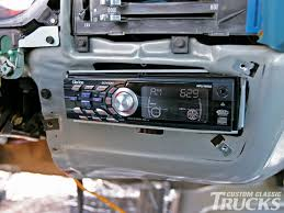 100 Truck Stereo 1979 Chevy C10 Install Hot Rod Network