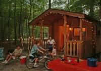 Rent a cabin in one of the beautiful NJ camping areas