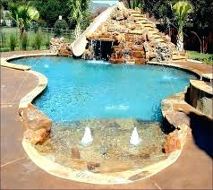 In Ground Pool Slides Custom For Pools Cheap