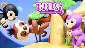 Fingerlings Sloth Kingsley Saved In The Jungle By Fingerling Monkey