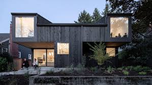 104 Residential Architecture Magazine Large Windows And Cantilevers Animate House On 36th By Beebe Skidmore