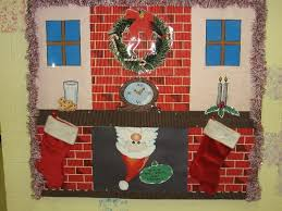 Christmas Office Door Decorating Ideas Pictures by Decorating Christmas Bulletin Boards And Door Decorations Large