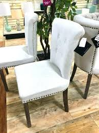 Parsons Dining Chairs Upholstered by Black Leather Parsons Dining Chairs Smoke Leather Dining Chair