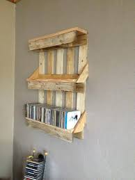 Bookshelf out of Pallets 101 Pallet Ideas