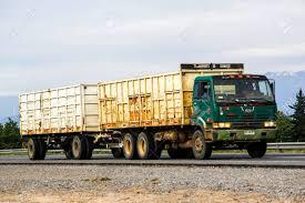 100 Nissan Diesel Truck OHIGGINS CHILE NOVEMBER 19 2015 Trailer