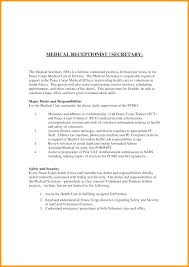 Medical Scheduler Resume Cover Letter Surgery Job Template Appointment