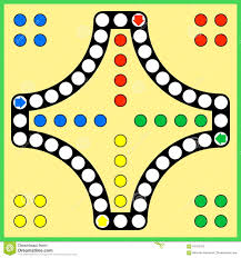 Ludo Board Game Stock Vector Image Of Pachisi Indoor