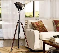 Pottery Barn Floor Lamp Shades by Photographer U0027s Tripod Floor Lamp Pottery Barn