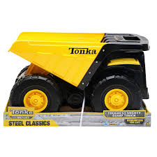 100 Yellow Tonka Truck Steel Toughest Mighty Dump Toys Character George