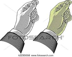 Clip Art Hand giving or take something Fotosearch Search Clipart Illustration Posters