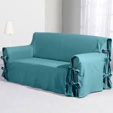 couvre canapé 3 places housse de canap 3 places taupe destiné à housse canapé 3 places