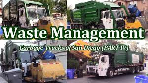 Waste Management Garbage Trucks Of San Diego - Part IV (The Curotto ...