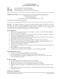 Retail Sales Associate Job Duties For Resume Popular Descriptions New Example
