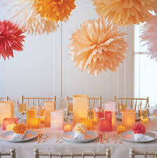 Cheap Wedding Decorations That Look Expensive by Pom Poms And Luminarias U0026 Video Martha Stewart