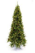 Downswept Slim Christmas Tree by 9 U0027 Prelit Christmas Tree Ebay