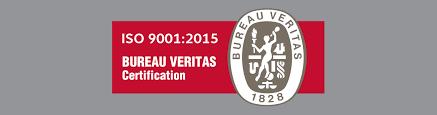 hydrafab bureau veritas iso 9001 2015 certification