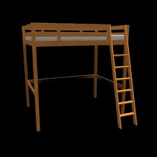 Ikea Stora Loft Bed by Home Design Ikea Svarta Loft Bed Frame With Desk 7500 Picclick