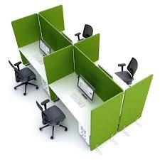 qualidesk claustra cloison mobile et écrans de bureau