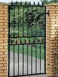 Metal Garden Gates Home Design Ideas and