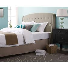 Roma Tufted Wingback Headboard Assembly Instructions by Tufted Wingback Bed Large Size Of Bed Frames Upholstered Bed Pros