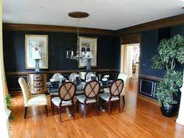 Dining Rooms With Chair Rails Gallery Of Room Rail Ideas Tufted Set