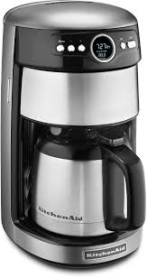 KitchenAidR Thermal Carafe Coffee Maker Contour Silver KCM1203CU