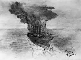 When Did Lusitania Sink by The Sinking Of Lusitania By Sammfeatblueheart On Deviantart