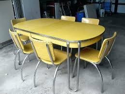 Retro Kitchen Table Set Diner And Chairs For Sale