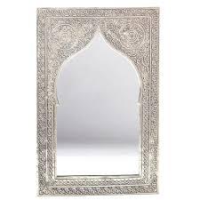 orientalischer spiegel silber orientspiegel marokko orient