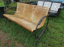 Unrestored Metal 3Seat Vintage Porch Gliders - Vintage Metal Gliders ... Intertional Caravan Valencia Resin Wicker Steel Frame Double Glider Chair Details About 2seat Sling Tan Bench Swing Outdoor Patio Porch Rocker Loveseat Jackson Gliders Settees The Amish Craftsmen Guild Ii Oakland Living Lakeville Cast Alinum With Cushion Fniture Cool For Your Ideas Patio Crosley Metal And Home Winston Or Giantex Textilene And Stable For Backyardbeside Poollawn Lounge Garden Rocking Luxcraft Poly 4 Classic High Back