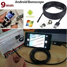9mm 2 In 1 Android Endoscope Otg Micro Usb Waterproof Borescopes