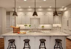 stunning white kitchen island darien metal pendant lighting with