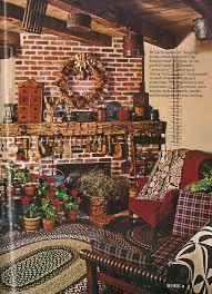 vintage country living primitive living room