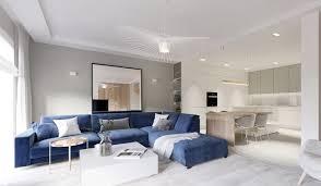dunkelblaues sofa wie kombinieren ideen die dazu passen