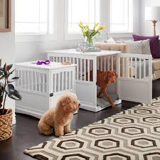 best 25 dog crate end table ideas on pinterest diy dog crate