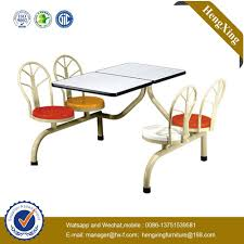 100 College Table And Chairs China 4Seats Dining Restaurant And Chair NShcz011