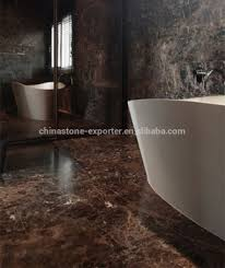 China Emperador Marble Chips Tile For Terrazzo Brown