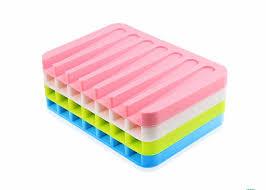 badezimmer weicher silikon seifen halter stärke gewohnheit