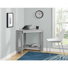 Ameriwood Computer Desk With Shelves by Ameriwood Furniture Parsons Corner Desk Gray