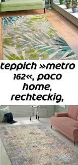 teppich metro 162 paco home rechteckig höhe 13 mm
