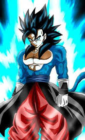 Xeno Vegetto SSJ4 BLUE